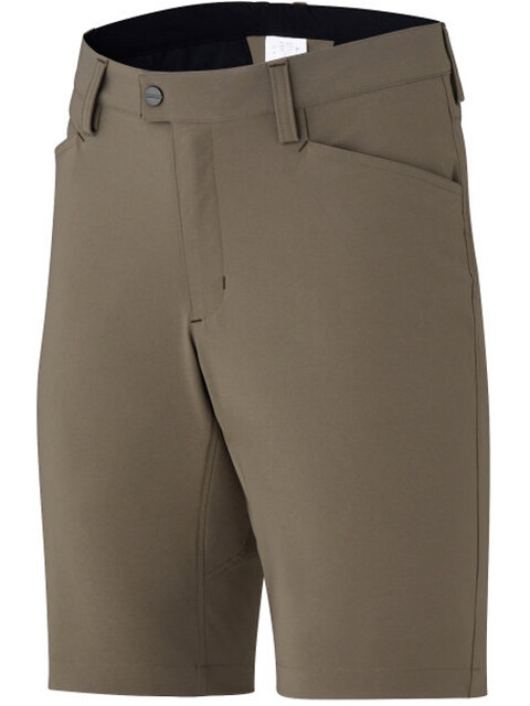 Shimano Transit Path Shorts Men morel